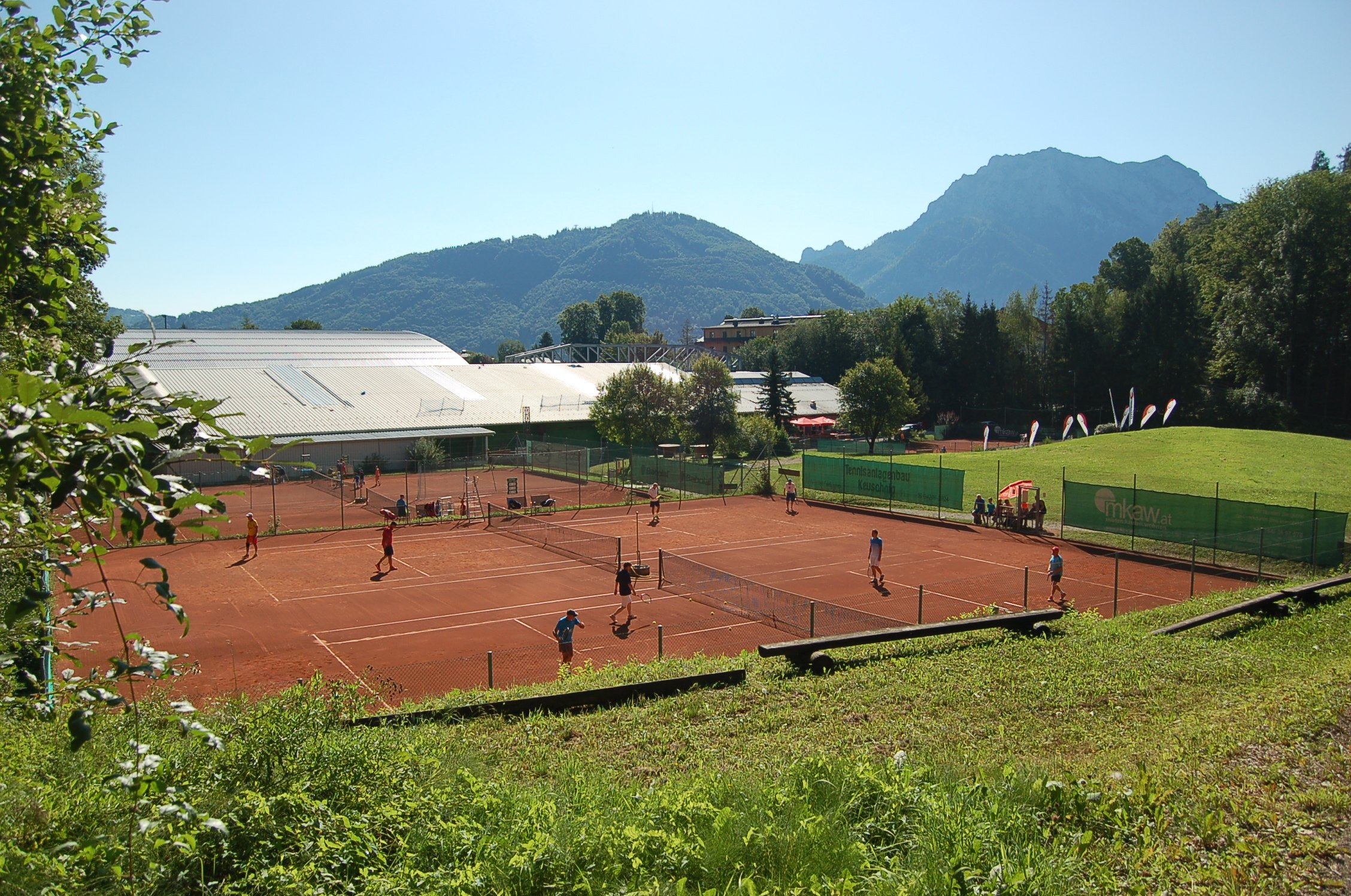 Tennis in Gmunden