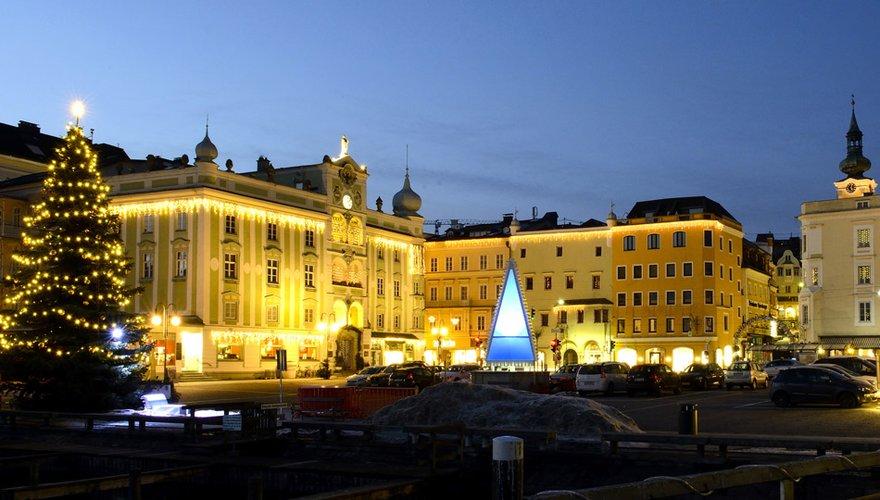 Rathausplatz in Gmunden