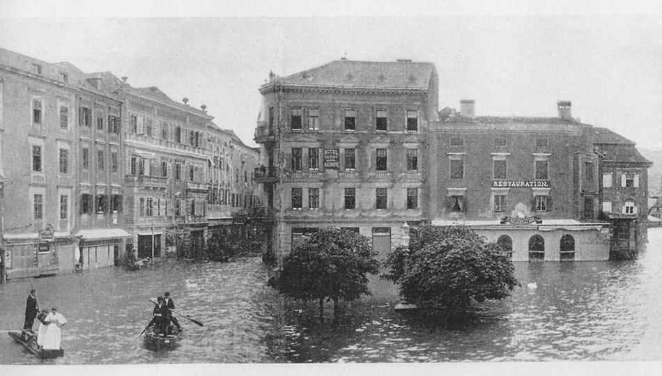 Das Hotel Schwan Geschichte