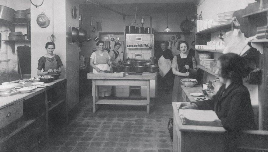 Die Küche 1839